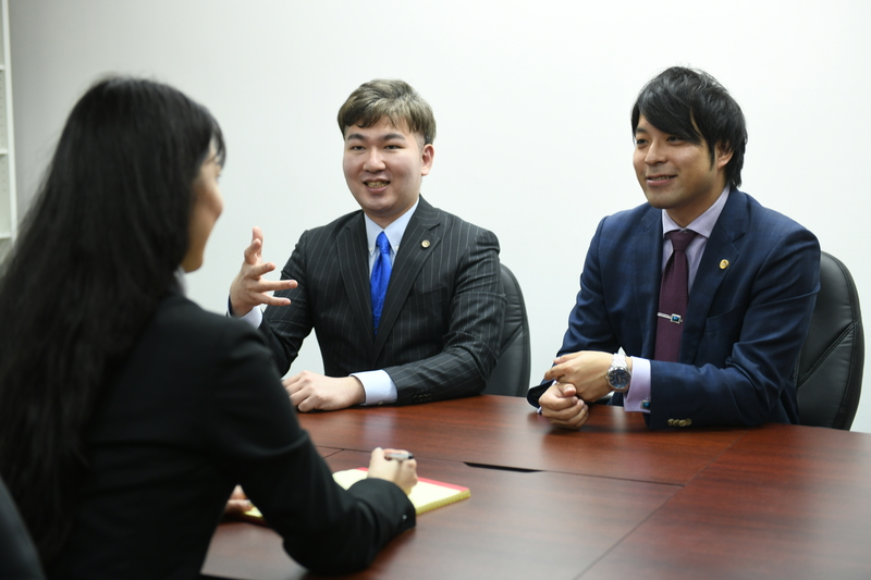 坂尾弁護士と石河弁護士