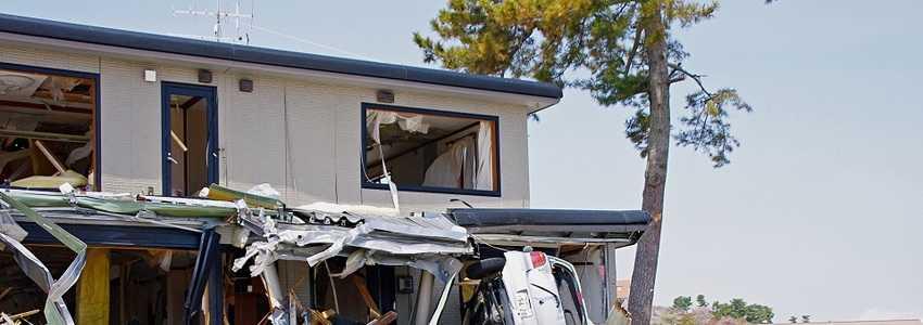 大災害で家が倒壊、立て直した家との二重ローンはやむを得ないのか?