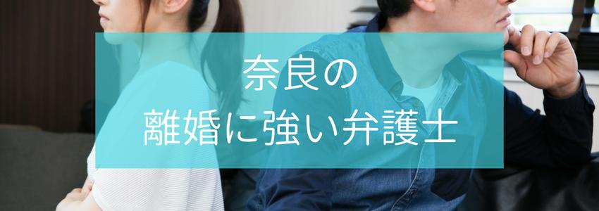 奈良県の離婚・男女の分野に強い弁護士・法律事務所5選